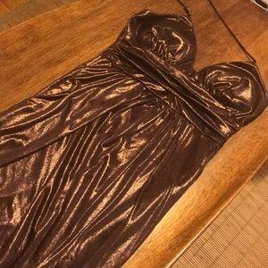 Bronze Party Dress